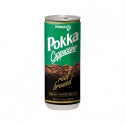 POKKA Cappuccino drink with...
