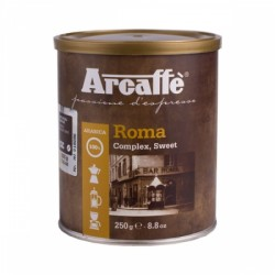 Ground coffee Arcaffe Roma, 250 g