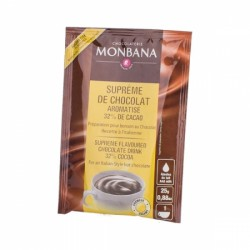 Monbana Supreme chocolate drink caramel 25g