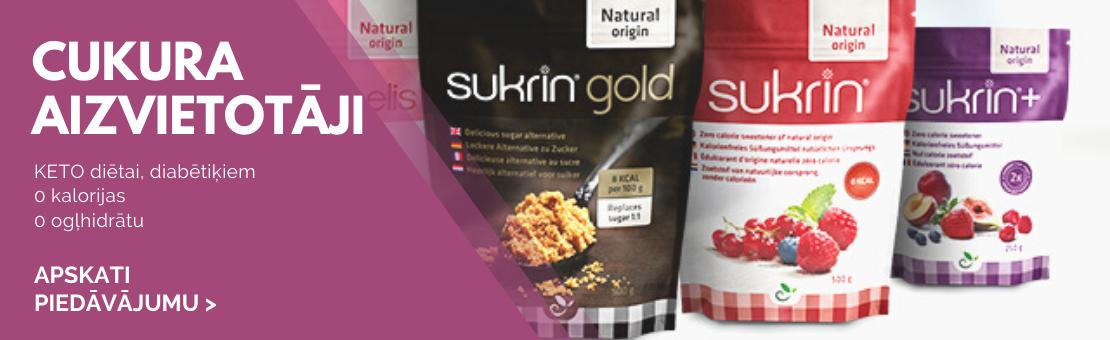 Gluten- & sugar-free food